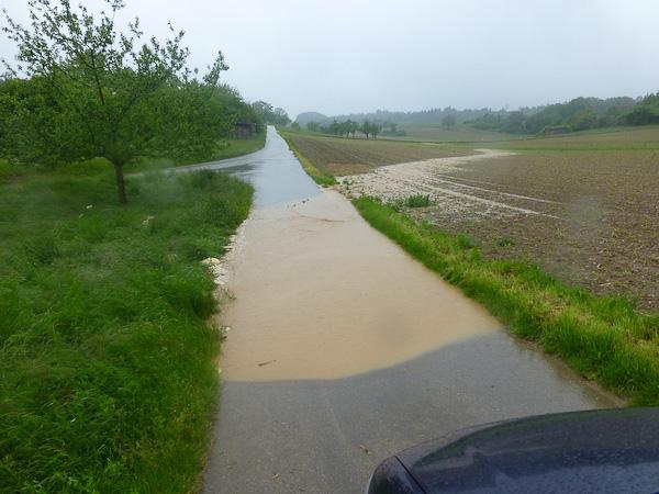 Hochwasser 01.06.2013
