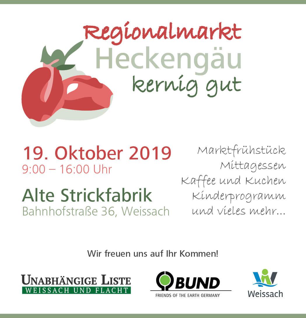 12. Regionalmarkt Heckengäu