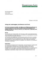 Antrag gegen das Mulchen von Wegesrainen im Wald, aktualisierte Fassung, Juli 2020