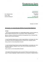 Antrag auf Umsetzung von naturschutzrechtlichen Ausgleichsmaßnahmen, 14.10.2020