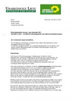 Überfraktioneller Antrag 2 zum Haushalt 2021: Ortsmitte Flacht – Zusätzliche Sitzgelegenheit und weitere Baumpflanzungen