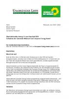 Überfraktioneller Antrag 11 zum Haushalt 2020 – Teilnahme der Gemeinde Weissach am European Energy Award