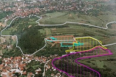 """Geplante Neubaugebiet """"Ettlesberg II"""" auf dem Eiterberg"""